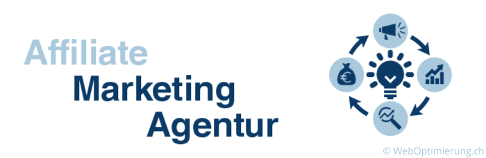 Grafik mit dem Schriftzug Affiliate Marketing Agentur